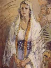 bible queen esther. Queen Esther Bible Minerva Teichert Old Testament Lds Art In
