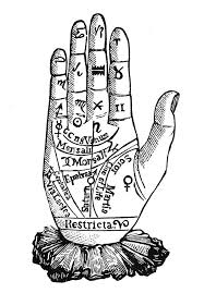 Palmistry Chart 1885