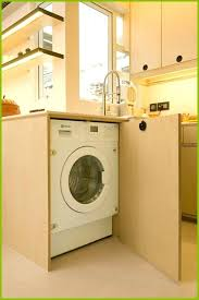 washing machine in kitchen design kitchen cabinet design with washing machine unique ingenious design solutions in