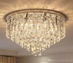 modern crystal chandelier lighting flush mount chandeliers light for for living dining room bedroom hall restaurant hotel decor llfa glass ball chandelier