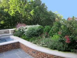 Retaining Wall Seating Martha Wassermann Landscape Design Portfolio