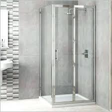 s bi fold frameless glass shower doors folding