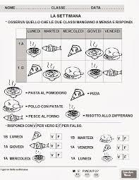 Favoloso Schede Didattiche Italiano Prima Elementare Da Stampare
