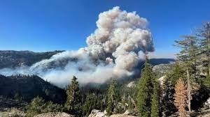 Tamarack Fire at 500 acres ...