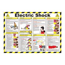 Electric Shock Treatment Chart In Hindi Pdf First Aid For Electric Shock Poster The Guide Ways