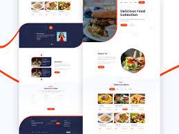 Restaurant Website Design Restaurant Website Design By Akash Ahamed On Dribbble