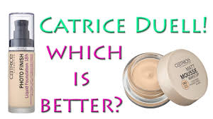 catrice duell photo finish foundation vs matt mousse make up