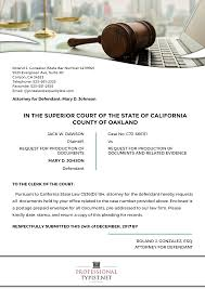 Pleadings Paper California Rules Of Court Pleading Format Professional Typist