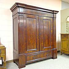 19th century german antique mahogany armoire antique mahogany armoire