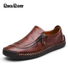 2019 genuine leather shoes men luxury brand mens shoes casual