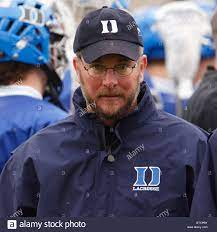 Duke University lacrosse coach Mike Pressler seen during a game Stock Photo  - Alamy
