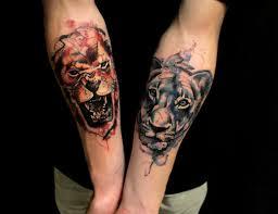 двойные тату татуировки 39 фото