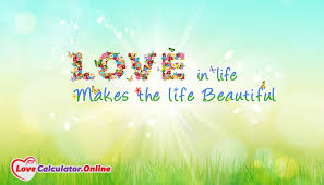 Love Make Life Beautiful Quotes Best Of Love In Life Makes The Life Beautiful LoveCalculatorOnline
