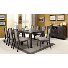 expandable furniture. Furniture Of America Basson Rustic Grey 9-Piece Expandable Dining Set - Free Shipping Today Overstock 19006045
