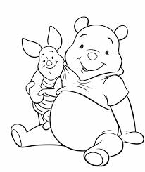Kleurplaat Winnie De Pooh 8 Kids