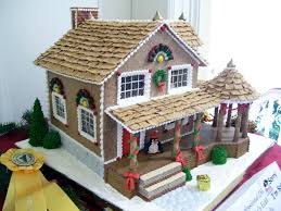 Premade Gingerbread Houses 1031 Best Holiday Gingerbread Houses Images On Pinterest