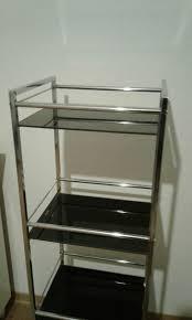 Badezimmerregal Glas Metall Chromfarben In 46483 Wesel Für 1300