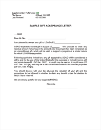Gift For Letter Of Recommendation Ads 628 Supplementary Reference Sample Gift Acceptance Letter