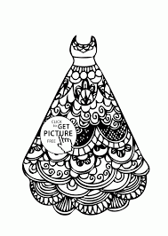 Small Picture Dresses Coloring Pages Coloring Home Coloring Coloring Pages
