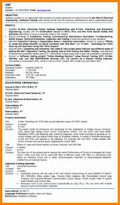 Power Plant Mechanical Engineer Resumes Electrical Engineer Resume Letter Signature Objective