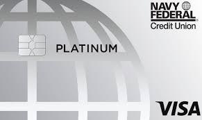navy federal platinum credit card 2021