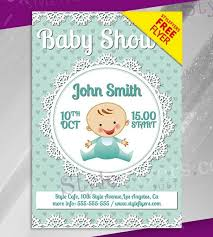 Baby Shower Invitations Template 20 Free And Premium Baby Shower Invitation Templates In Psd