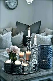 Decorating An Ottoman With Tray Tray Decoration Ideas Home Decor Ideas 100 Ways To Use Serving Trays 81
