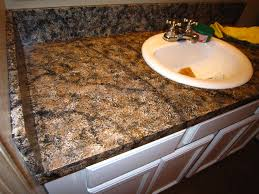 Sponge Painting Countertops Diy Faux Granite Countertop Without A Kit For Under 60 Faux