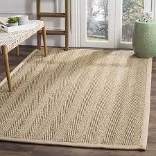 3x5 area rugs safavieh casual natural fiber hand woven sisal natural beige seagrarea rug 3 5 on free on orders over 45 com