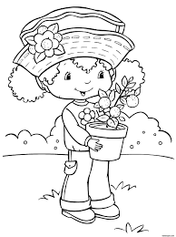Small Picture Girl Coloring Page 3475