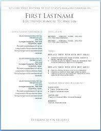 Word Free Resume Templates Free Word Resume Template Best Free Word