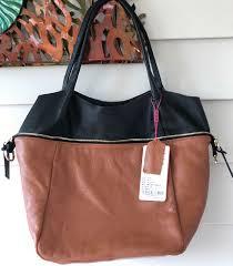 women brown black genuine leather handbag shoulder bag multi function