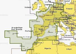 Карта для эхолотов <b>Navionics Plus</b> 46XG Центральная и ...
