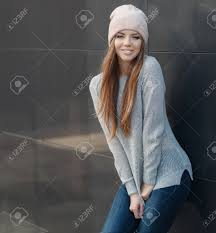 Cute Girl With Blue Eyes Long Straight Light Brown Hair Beautiful