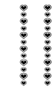 キンブレシート ハート 素材 透過の画像27点完全無料画像検索のプリ