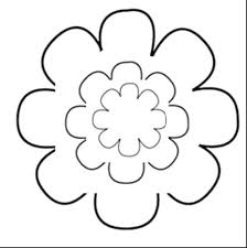Free Paper Flower Templates Printable Free Printable Flower Templates Printable Flower Patterns Library