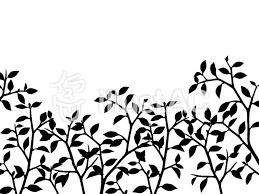 木のシルエット素材イラスト No 922239無料イラストならイラストac