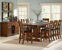 steve silver zappa 9 piece counter height table chair set in dining room table set counter height