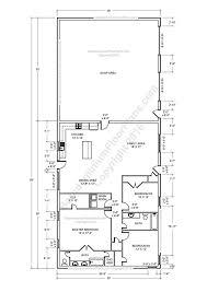 barndominium floor plans pole barn house planetal