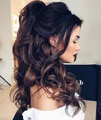 15 prom hair ideas to get you super pretty belle half up hairstyle prom wedding hair weddinghair