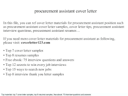 Assistant Buyer Cover Letter Sample Buyer Cover Letter Assistant ...