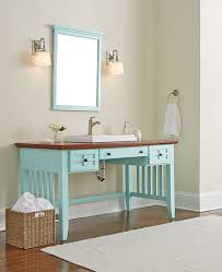 build bathroom vanity. DIY Bathroom Vanity Made From An Desk Build
