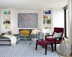 Red And Blue Living Room Decor Living Room Chaise Lounge Chair Living Room Design Ideas