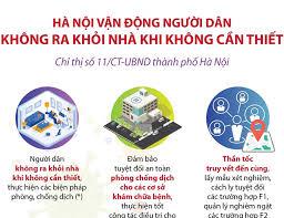 Infographic: Hà Nội vận động người dân không ra khỏi nhà khi không cần  thiết | Thời Báo Tài Chính