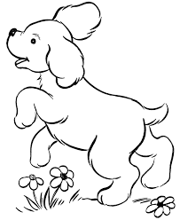 dog coloring pages to print