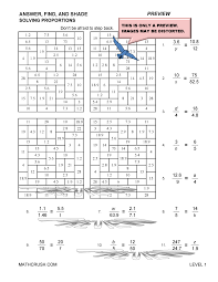 Worksheets by Math Crush: Fractions