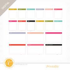 Daily Routine Printable Alfresco Daily Routine Printable Journal Cards