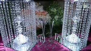 chandelier dollartree centerpiece