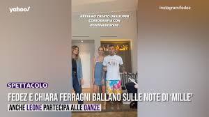 Fedez e Chiara Ferragni: nuovo video tutorial per il balletto di Mille -  Video Dailymotion