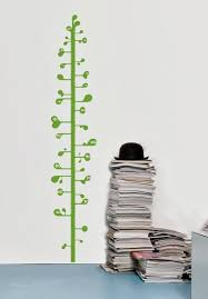 Bean Sprout Growth Chart Decal Wall Decal For Kids Home
